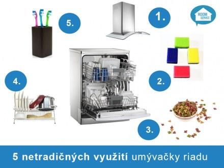 5 tipov na netradičné využitie umývačky riadu